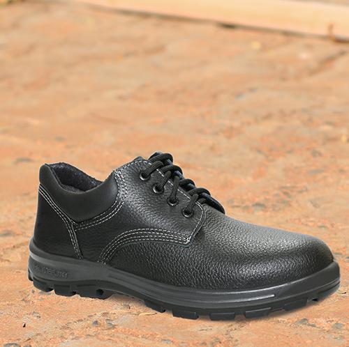 55.2154 - Sapato de Cadarço - Solado Bidensidade Protefort Premium - Couro - Biqueira Termoplástica - Preto