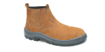 NB.3357 - Botina New Boot - Solado Bidensidade Protefort Premium - Nobuck - Biqueira Termoplástica - Castor