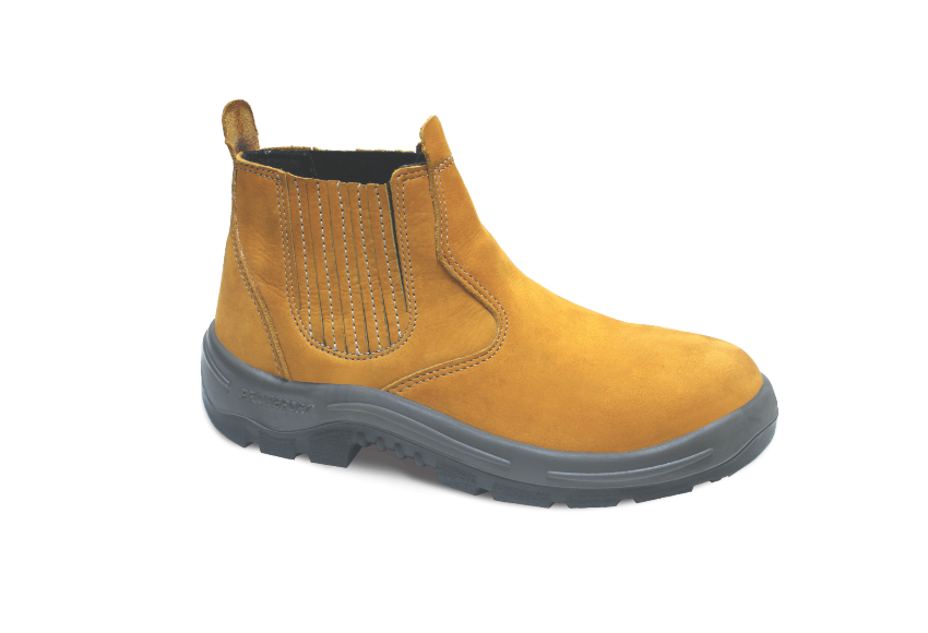 NB.3359 - Botina New Boot - Solado Bidensidade BomBoot - Nobuck - Biqueira Termoplástica - Milho