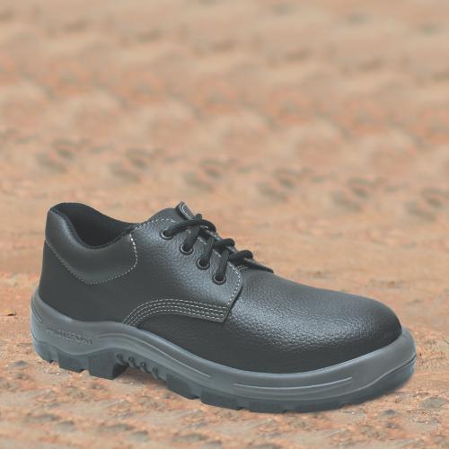 55B.2154 - Sapato Cadarço - Solado Bidensidade Protefort Premium - Couro - Biqueira Termoplástica - Preto