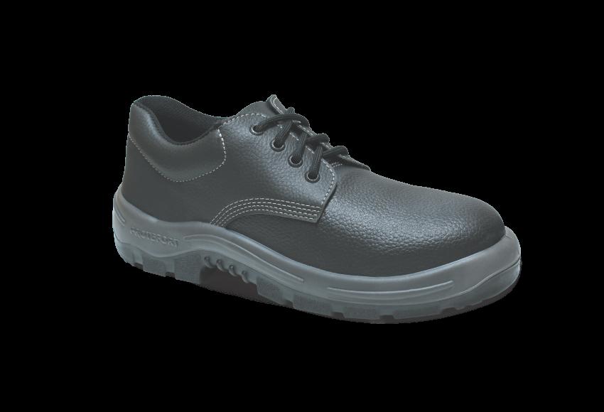 55B.3154 - Sapato Cadarço - Solado Bidensidade Protefort Premium - Couro - Biqueira Termoplástica - Preto