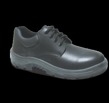 55.2254 - Sapato Cadarço - Solado Bidensidade Protefort Premium - Vaqueta - Biqueira Termoplástica - Preto