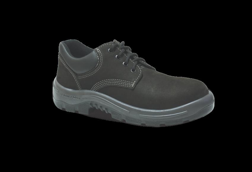 55.2358 - Sapato Cadarço - Solado Bidensidade Protefort Premium - Nobuck - Biqueira Termoplástica - Marrom