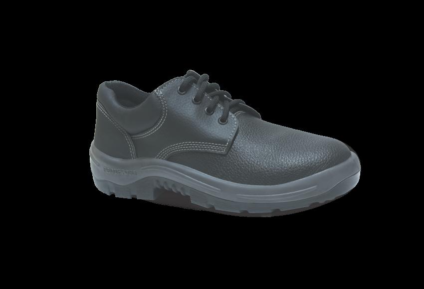 55.3154 - Sapato Cadarço - Solado Bidensidade Protefort Premium - Couro - Biqueira Termoplástica - Preto