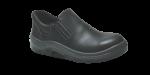 44.3194 - Sapato Elástico - Solado Bidensidade Protefort Premium - Couro - Biqueira PVC - Preto