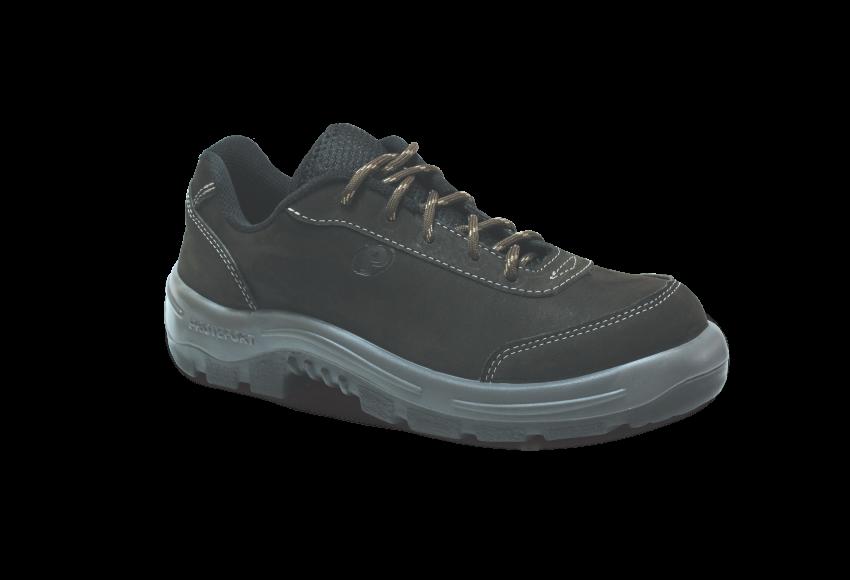 5.3358 - Tênis Runner - Solado Bidensidade Protefort Premium - Nobuck - Biqueira Termoplástica - Marrom